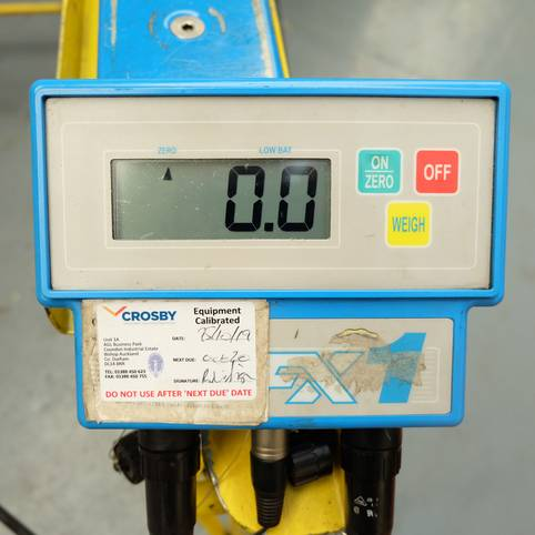 ICONIX FX1 Electronic Weighing System