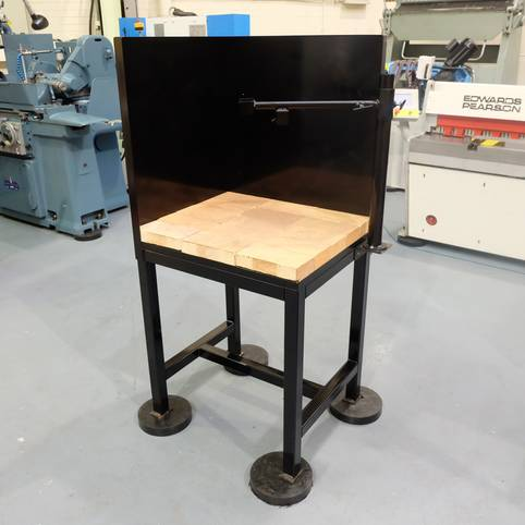 NEW Brazing Hearth with Adjustable Arm